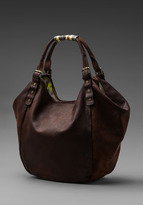 Twelfth St. By Cynthia Vincent By Cynthia Vincent Columbia Classic Berkeley Bag in Purple/Taupe