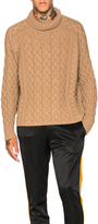 Burberry Chunky Cashmere Sweater