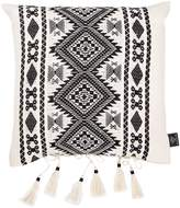 Azizi Cotton Accent Pillow With Tassels