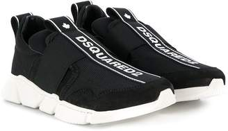 DSQUARED2 low top logo sneakers