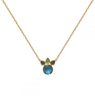 Perle de Lune Gold Princess Necklace