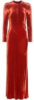 Haider Ackermann Velvet Dress