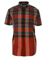 Nautica Men's Short Sleeve Plaid Shirt
