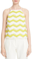 Milly Sheer Zigzag Tank
