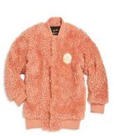 Mini Rodini Baby's, Toddler's, Little Girl's & Girl's Faux Fur Bomber Jacket