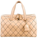 Chanel Surpique Large Bowler Bag