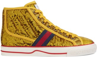 Gucci Women's Tennis 1977 high top sneaker