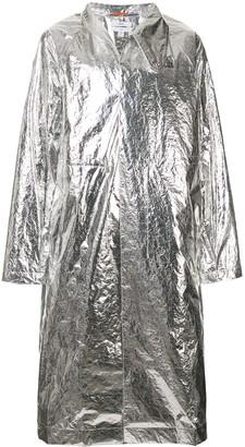 Oamc long length raincoat