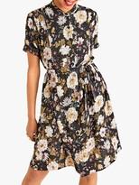 Yumi Earth and Flower Dress, Black/Multi