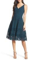 Adelyn Rae Women's Fit & Flare Midi Dress
