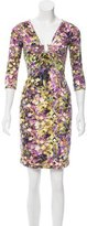 Roberto Cavalli Digital Printed Fitted Dress