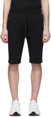 Dolce & Gabbana Black Plaque Lounge Shorts