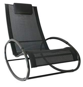 Zero Gravity Ebern Designs Sundberg Outdoor Rocking Chair Ebern Designs