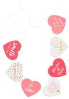 Levtex Pink Heart Banner