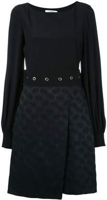 Schumacher Dorothee patterned belted dress