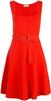 Nicholas sleeveless flared mini dress