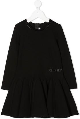 Givenchy Kids Peplum Skirt Midi Dress