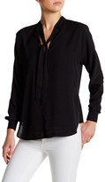 David Lerner Long Sleeve Dolman Blouse