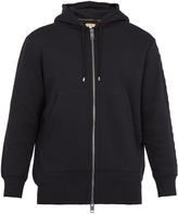 Burberry Lestford cotton-jersey hooded sweatshirt