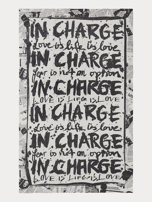 Diane von Furstenberg Shiloh Silk-Chiffon Rectangle Scarf