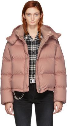 Moncler Pink Down Paeonia Jacket