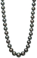 Belle de Mer Black Tahitian Cultured Pearl (11-13mm) Collar Necklace