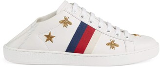 Gucci Women's Ace sneaker with bees and stars