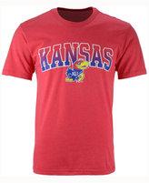 Colosseum Men's Kansas Jayhawks Gradient Arch T-Shirt
