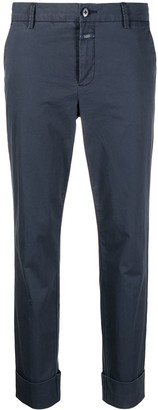 Closed Cropped Chino Trousers