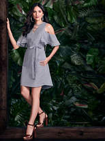 K-dash maxi dress black and white stripe