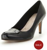 Clarks Carlita Cove Mid Heel Court Shoe