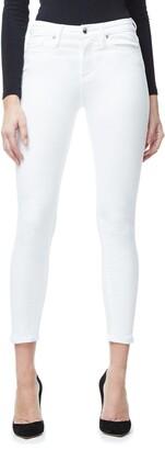 Good American Good Legs Crop | White001