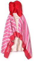 Juicy Couture Girls Terry Hooded Towel