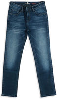 7 For All Mankind Slimmy Slim Straight Stretch Jeans