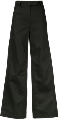Walk Of Shame wide-leg trousers