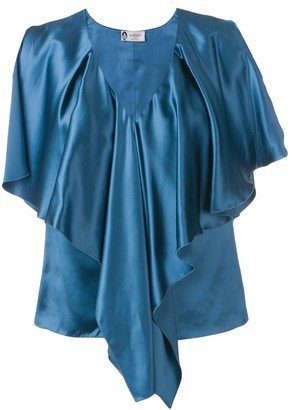 Lanvin ruffled blouse