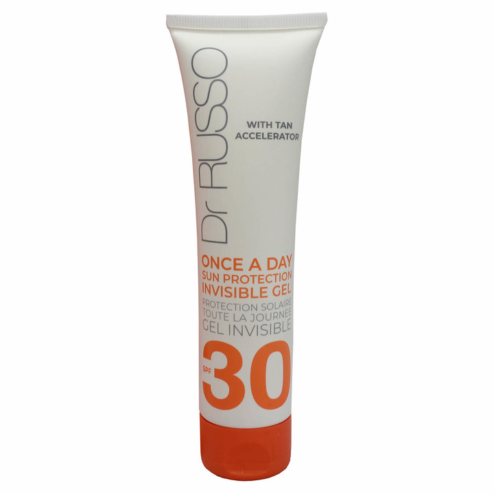 Dr. Russo Once a Day SPF30 Sun Protective Body Gel Tan Accelerator 100ml