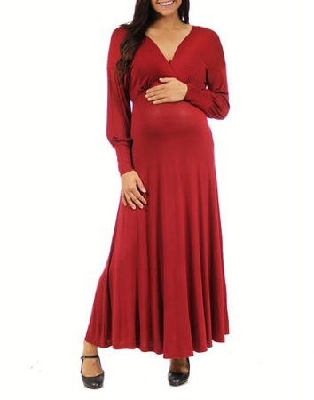 9cc2d7113eed Fitted Long Sleeve Maternity Dresses - ShopStyle
