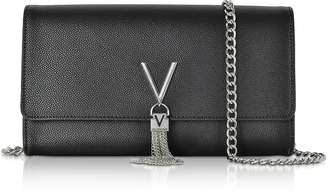 Mario Valentino Valentino By Lizard Embossed Eco Leather Divina Shoulder Bag