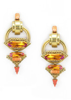 Elizabeth Cole Luck Earrings