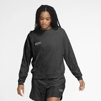 Nike Women's Long-Sleeve Soccer Top F.C
