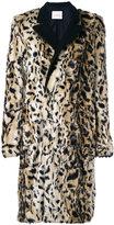 A.F.Vandevorst tailored furry coat