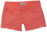 Hudson Ava Fluorescent Frayed Short (Big Girls)