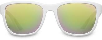 Prada Lindea Rossa Flask mirrored sunglasses