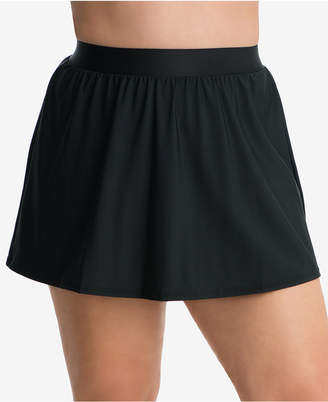 Miraclesuit Plus Size Swim Skirt Women Swimsuit