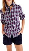 J.Crew Petite Women's Perfect Plaid Shirt
