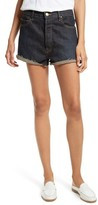 The Great Women's The Cut Off Denim Shorts