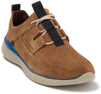 Cole Haan Grandsport Suede Apron Toe Sneaker