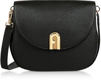 Furla Genuine Leather Sleek S Crossbody Bag