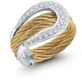 Alor 18k Diamond Pavé Horseshoe Ring, Size 7